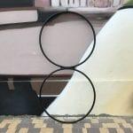 Двойное воздушное кольцо для цирковой студии