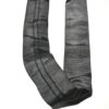 строп кольцевой черный текстильный